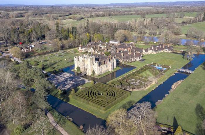 Замок Хевер.