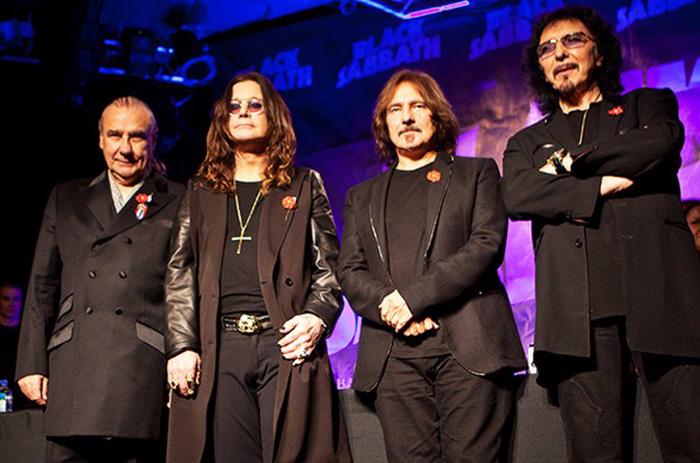 Мрачные Black Sabbath.