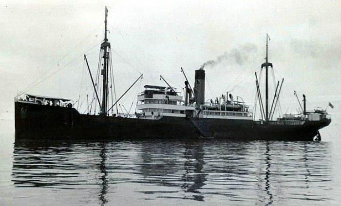 Германское судно СС Минден.