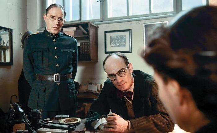 Кадр из фильма швейцарского телевидения «Досье Грюнингера».