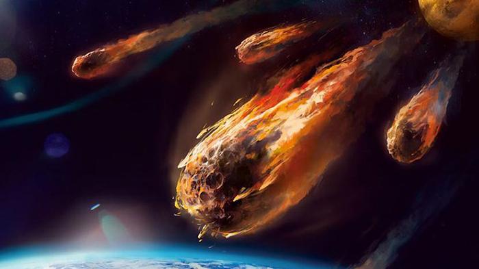 Никаких исторических свидетельств метеоритной бури в те времена нет.