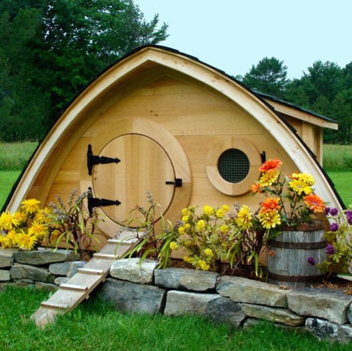 Красивый домик для хоббита!