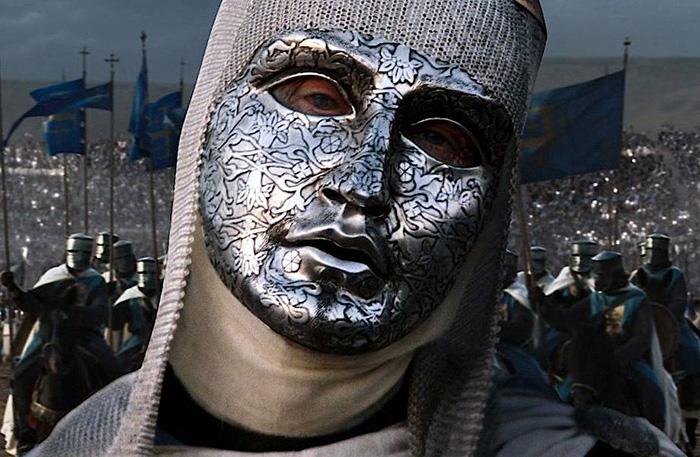Балдуин был прокажённым и носил маску.