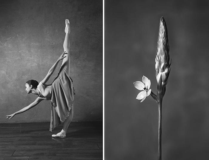 Сравнение женщин и цветов - частый мотив у различных деятелей искусства.