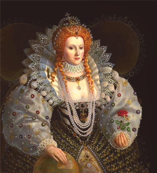 Королева Елизавета.