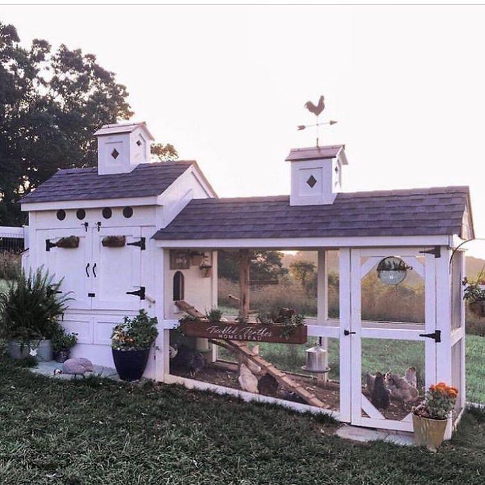 Уютный фермерский домик.