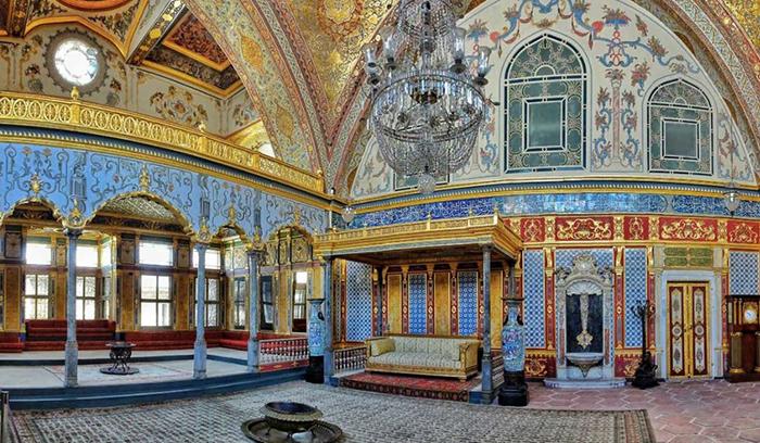 Покои султана во дворце Топкапы.