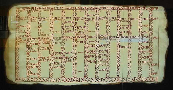 Римский календарь.