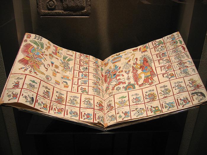 Кодексы ацтеков.