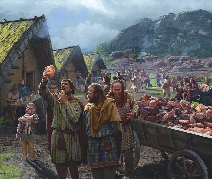 Кельты славились своими тканями.