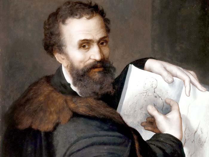 Портрет Микеланджело.