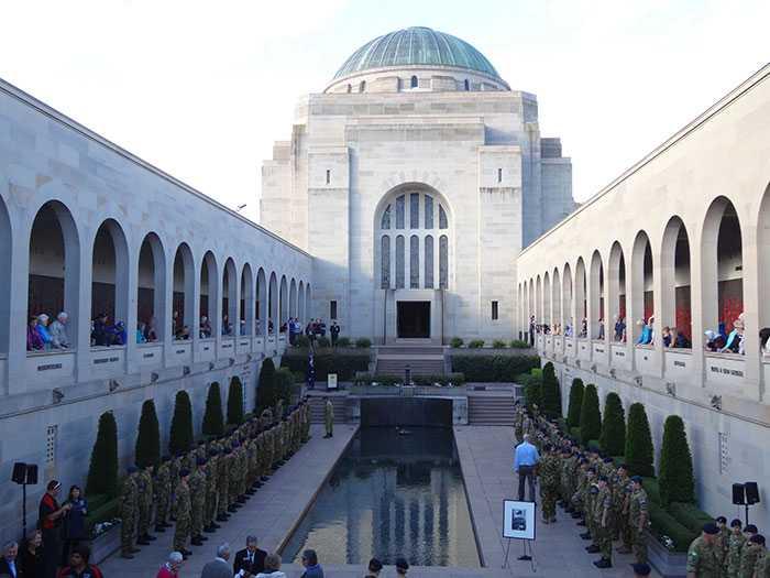 Австралийский военный мемориал.
