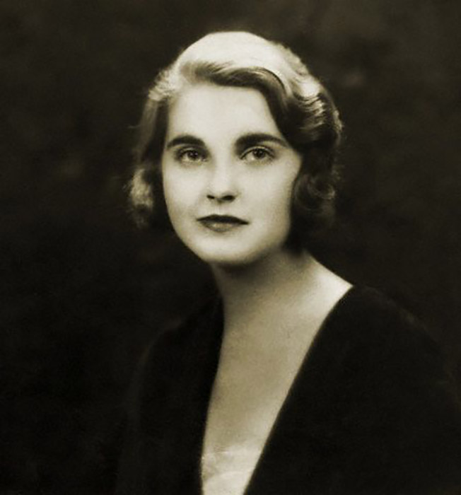 Портрет мисс Барбары Хаттон, май 1931 года.