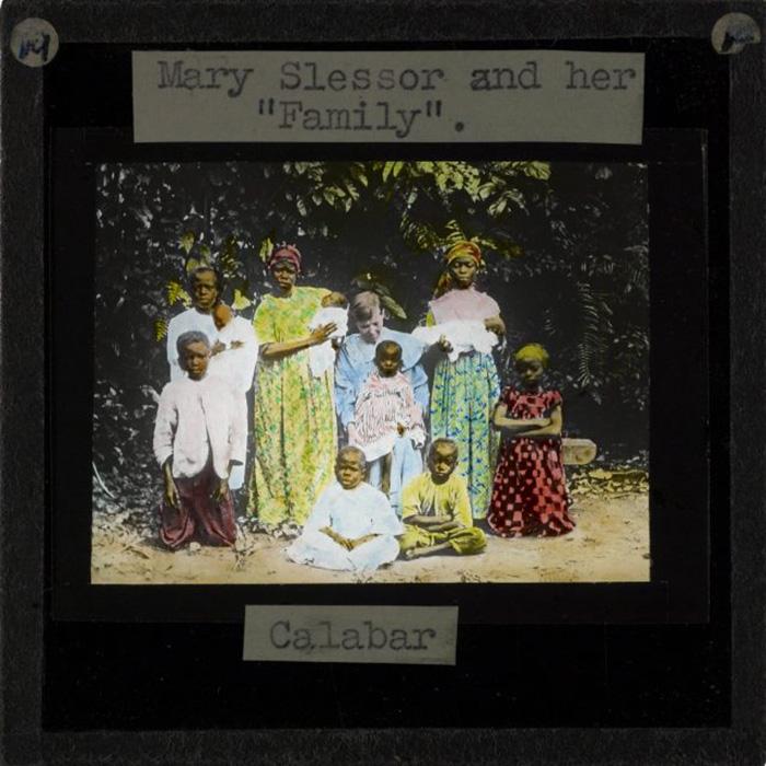 Семья из Калабара.