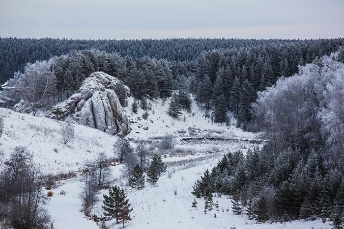 Безымянный перевал, который теперь носит имя Дятлова.