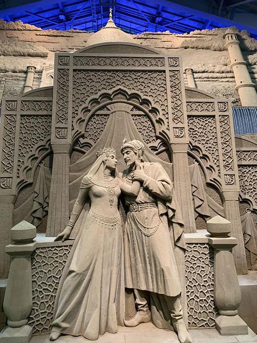 Музей песка в Тоттори, Япония.