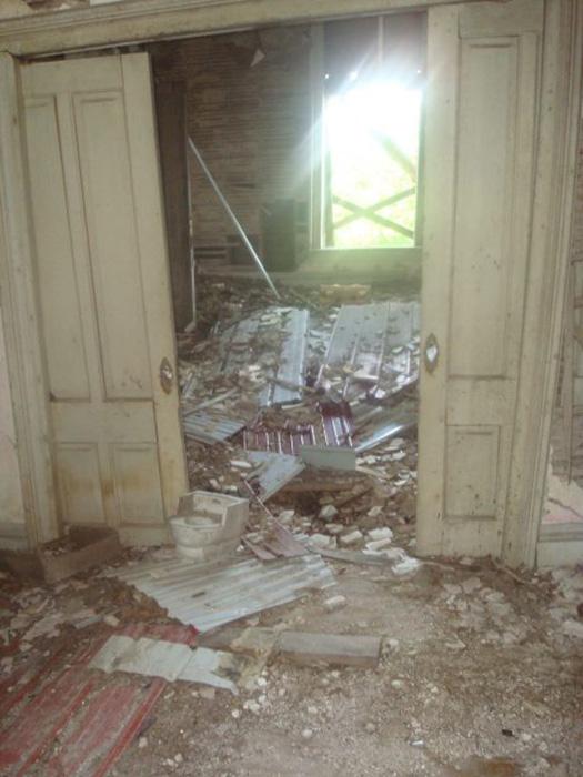 Остатки западной гостиной особняка Футов.