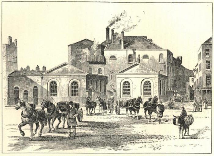 Пивоварня «Подкова» 1800 год.