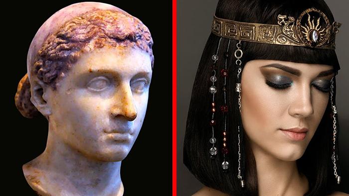 Клеопатру трудно было назвать красивой женщиной в классическом понимании этого слова.