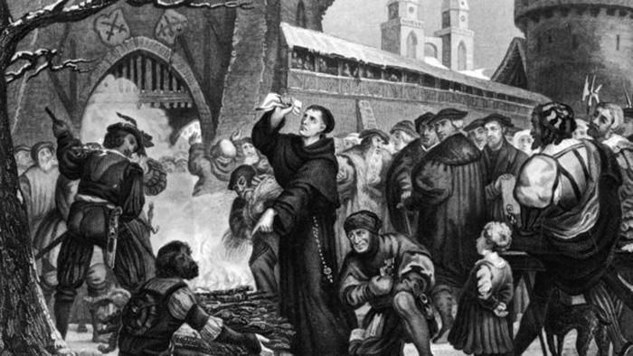 Реформация осуждала Средневековье.