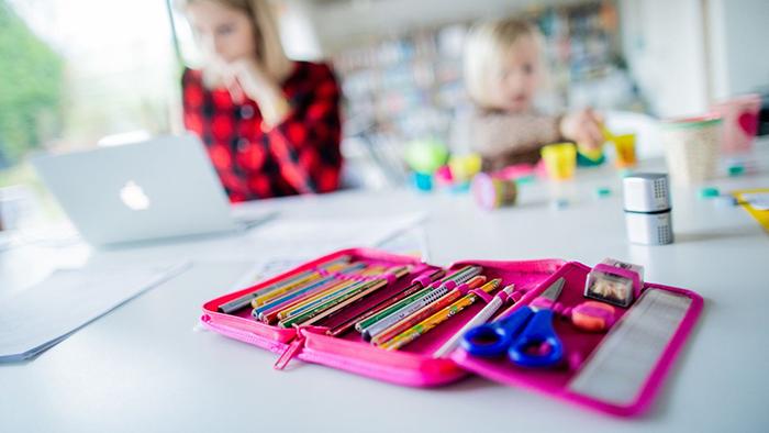 Детям тоже тяжело бывает на домашнем обучении.