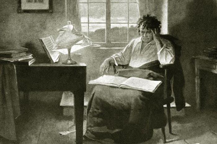 Самые прекрасные из своих произведений Бетховен написал, когда музыка звучала у него в голове.