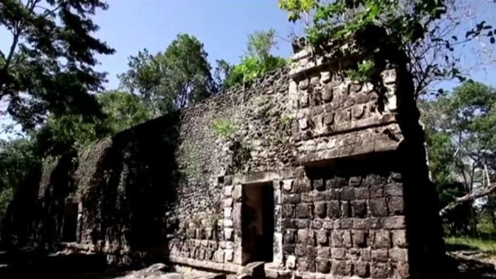Обнаруженный дворец, предположительно использовался элитой.