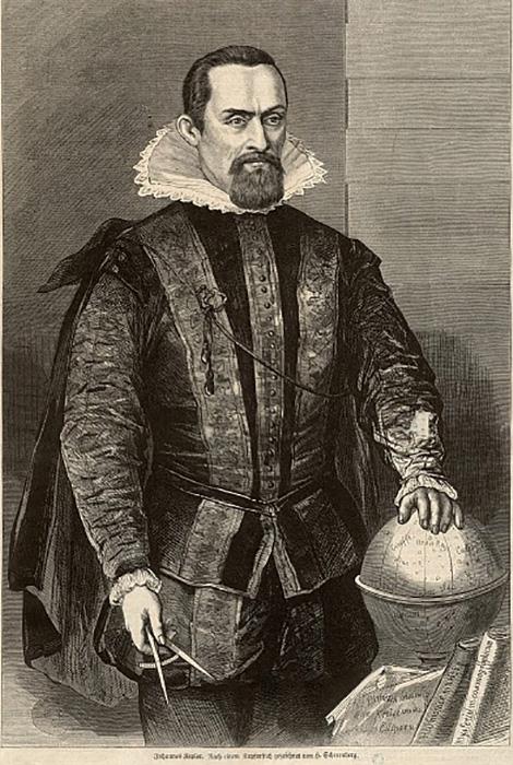 Иоганна Кеплера считали еретиком за то, что он был последователем идей Коперника.