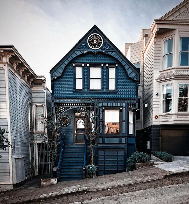 Такой красивый домик.