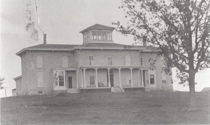 Фотография особняка Футов, около 1900 года.
