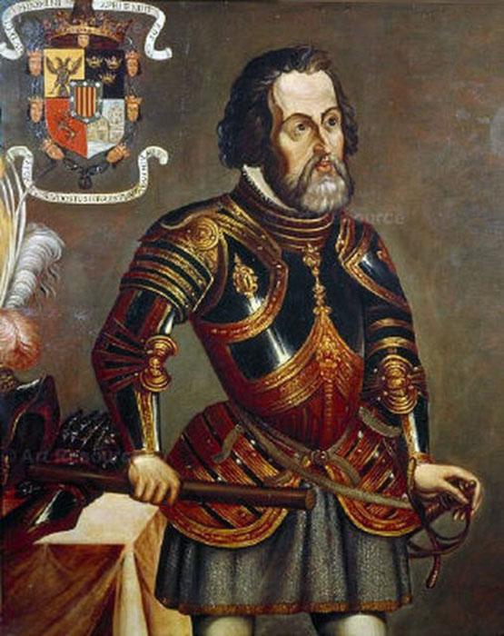 Эрнандо Кортес.