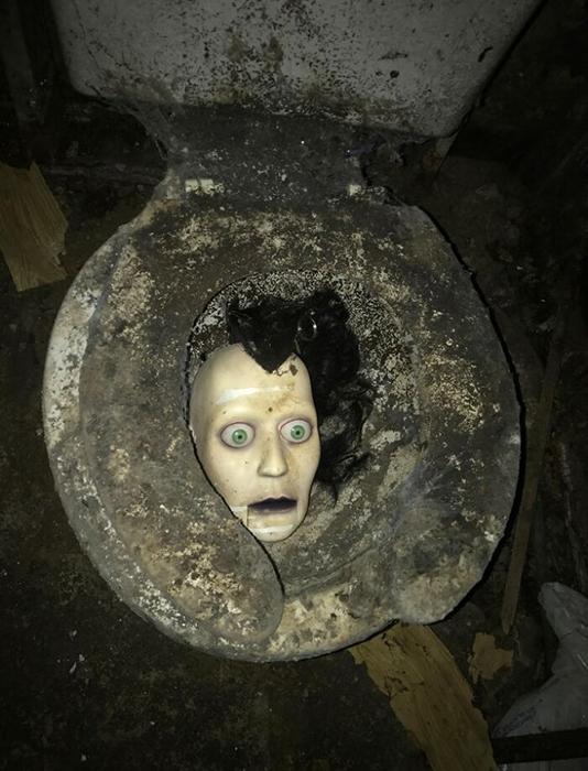 «Я подрядчик. Куплен заброшенный дом под ремонт. Это было в подвале, в санузле».