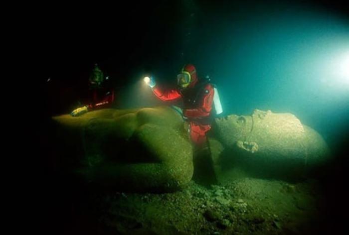 Археолог Франк Годдио сам не верил в легенду о городе Гераклион.