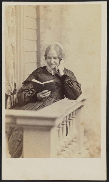 Портрет Лидии Марии Чайлдс, популярного писателя-советчика, 1865 год.