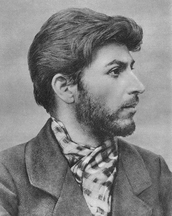 Сосо Джугашвили.