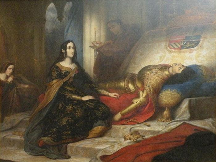 После смерти горячо любимого супруга Филиппа, рассудок и правда покинул Иоанну.
