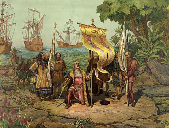Моряк из Генуи - герой Америки.