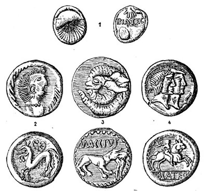 Кельтские монеты.