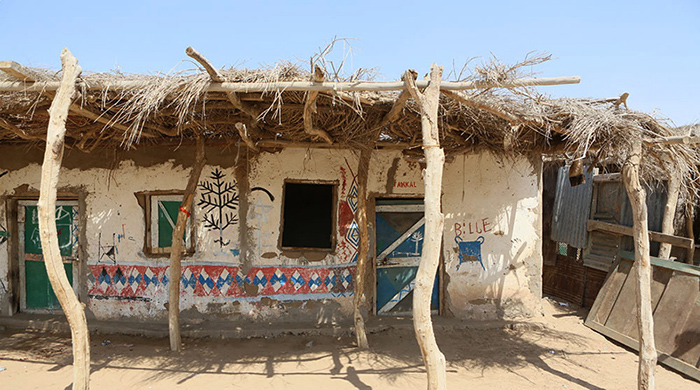 В таких хижинах живут люди в Сомалиленде.