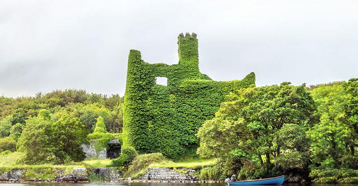 Замок Менло.