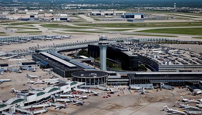 Международный аэропорт О'Хара вЧикаго.