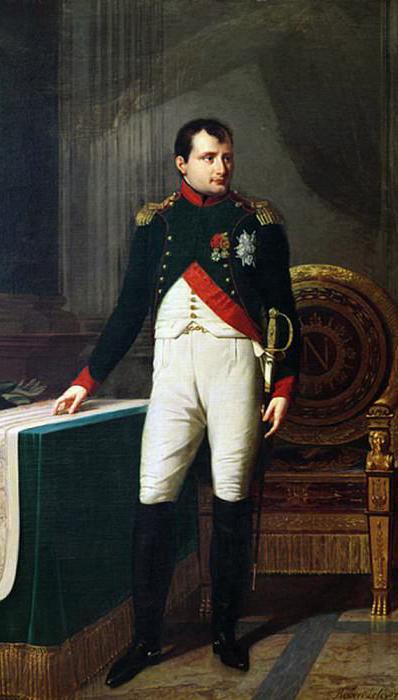 Наполеону так и не удалось избавиться от корсиканского акцента.