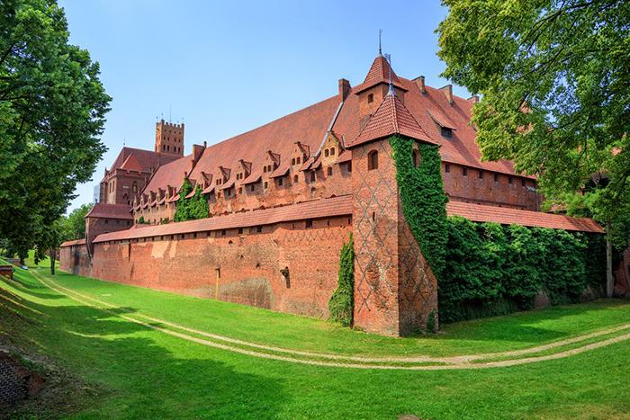 Тевтонцы владели замком 150 лет.
