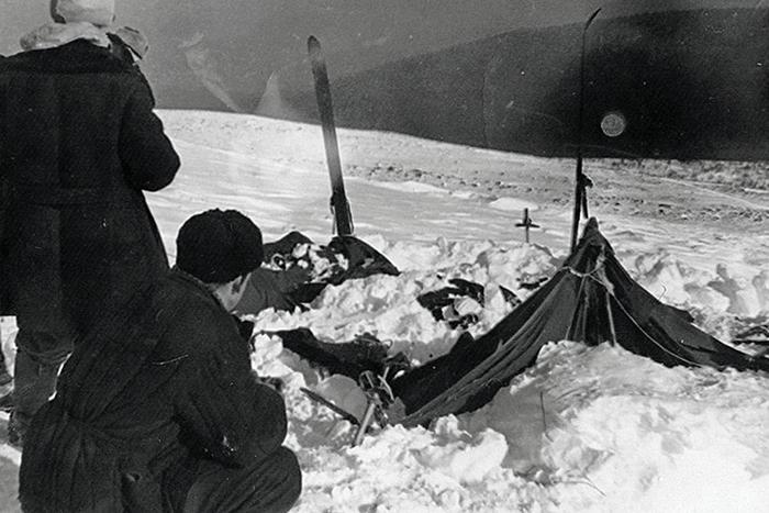 Палатка группы Дятлова.