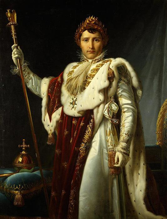 Наполеон желал возвести на площади нечто монументальное.