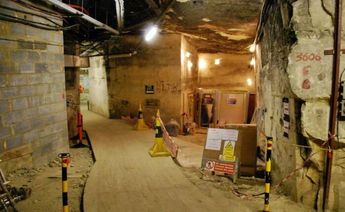 Подземный бункер Бёрлингтон.