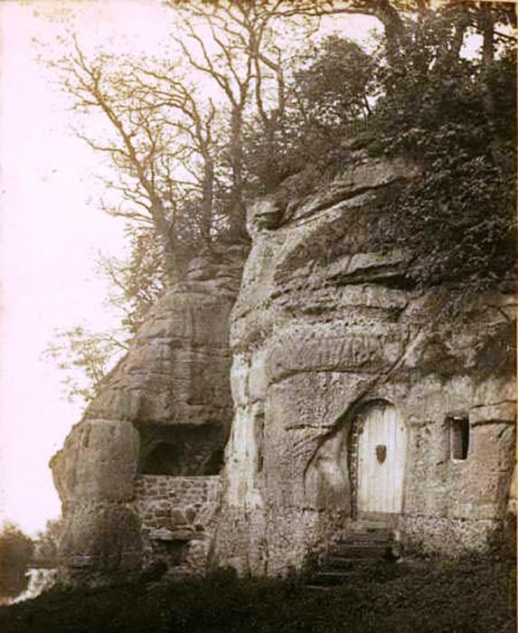 Внешний вид пещер, 1895 год.