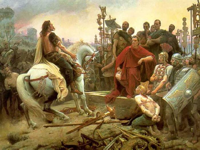 Римляне считали кельтов немытыми варварами.