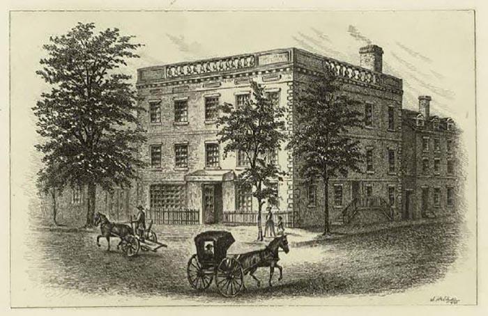 Дом Джорджа Вашингтона.