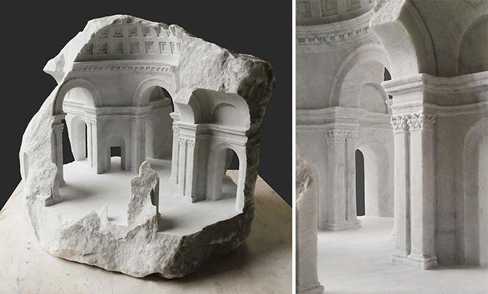В своих скульптурах Симмондс пытается отразить общие достижения человеческой культуры, влияние различных культурных традиций друг на друга.